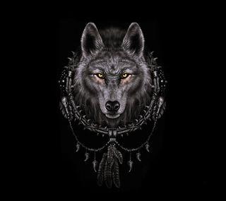 Обои на телефон мечты, волк