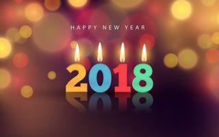 Обои на телефон счастливые, счастливое, свеча, свет, рождество, пожелания, новый, 2018