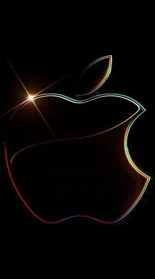 Обои на телефон экран блокировки, эпл, цветные, логотипы, айфон, apple
