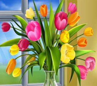 Обои на телефон тюльпаны, март, любовь, день, womens day, march 8, love