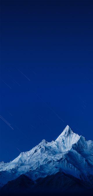 Обои на телефон зима, горы, oppo, mount