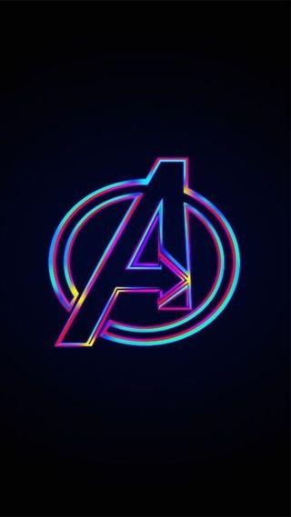 Обои на телефон мстители, железный человек, логотипы, буквы, avenger logo hd