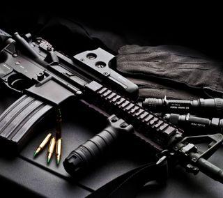 Обои на телефон черные, оружие, крутые, carabine, bullet