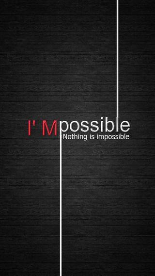 Обои на телефон поговорка, ничего, невозможно, мудрые, возможный, вдохновляющие