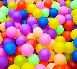Обои на телефон шары, цветные, радуга, мяч, красочные, colorful balloons
