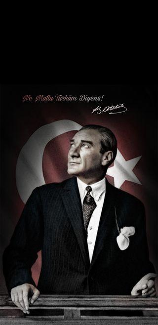 Обои на телефон ататюрк, турецкие, ne mutlu turkum diyene, mustafa kemal ataturk, memoyzg, ataturk by memoyzg