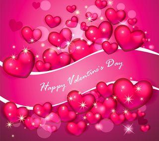 Обои на телефон день, фон, сияние, сердце, розовые, любовь, валентинки, валентинка, абстрактные, love