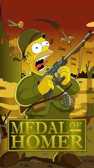 Обои на телефон battlefield, bullet, halo, medal of homer, аниме, мультфильмы, фан, оружие, солдат, гомер, самолет