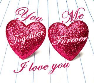 Обои на телефон вместе, я, сердце, подарок, навсегда, милые, любовь, красые, всегда, u-me, love