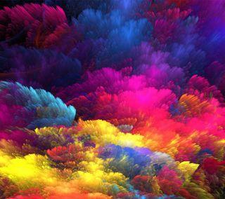 Обои на телефон брызги, цветные, радуга, любовь, love