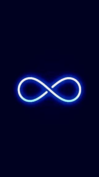 Обои на телефон бесконечность, огни, неоновые, infinity