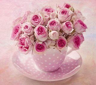 Обои на телефон цветочные, цветы, фон, розы, розовые, винтаж