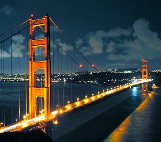 Обои на телефон мост, новый, золотые, ворота, hd, golden gate bridge