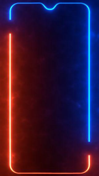 Обои на телефон огонь, темные, сяоми, самсунг, рамка, оранжевые, лед, дым, граница, выемка, амолед, xiaomi, samsung, oneplus, one plus 6, ice-fire oneplus frame, amoled