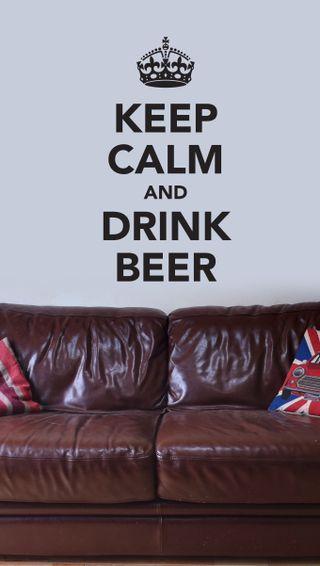 Обои на телефон цитата, фон, спокойствие, пиво, напиток, классные, keep calm, couch