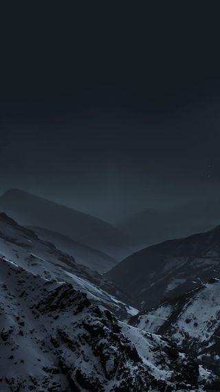 Обои на телефон горы, ночь, hd night in mountain, hd