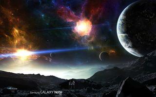 Обои на телефон планета, логотипы, космос, звезды, галактика, note, galaxy, 2014, 10