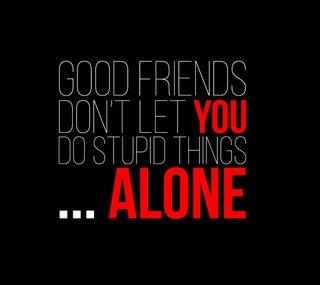 Обои на телефон одиночество, друзья, good