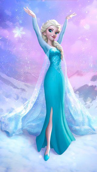 Обои на телефон анимация, холодное, фильмы, фильм, синие, платье, мультфильмы, девушки, hd, blue dress