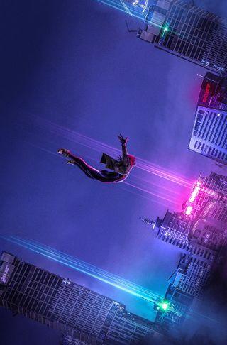 Обои на телефон через вселенные, анимация, человек паук, фильмы, супергерои, паук, моралес, марвел, майлз, verse, marvel, man, into the spiderverse
