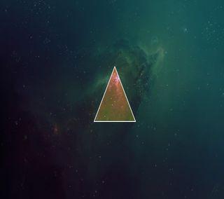 Обои на телефон треугольник, прекрасные, милые, крутые, космос, space triangle