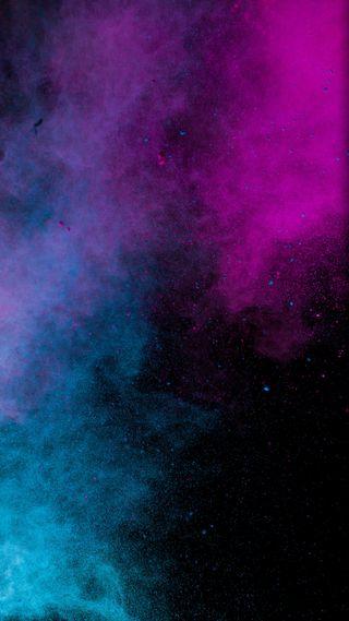 Обои на телефон глубокие, цветные, галактика, вселенная, айфон, powder x, powder, iphone x, galaxy