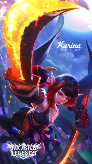 Обои на телефон мобильный, легенды, karina