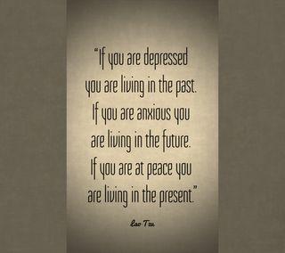 Обои на телефон подарок, цитата, мир, депрессивные, tzu, loa tzu living, living, lao, anxious