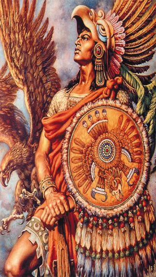 Обои на телефон панк, aztec, actec