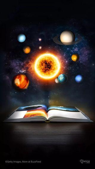 Обои на телефон солнечный, фиолетовые, тема, система, планета, наука, космос, земля, вселенная