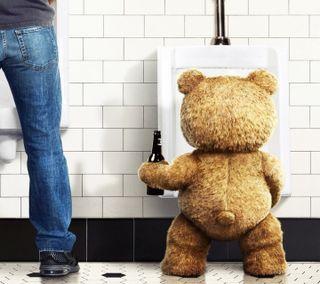 Обои на телефон тед, медведь, фан, забавные, wc, comdy