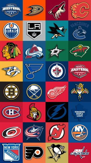 Обои на телефон хоккей, нхл, команды, коллаж, команда, nhl team collage, nhl