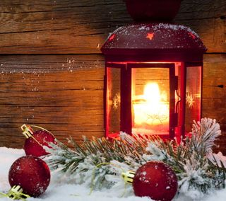 Обои на телефон фонарь, фон, свет, рождество, декор, christmas light, christmas background