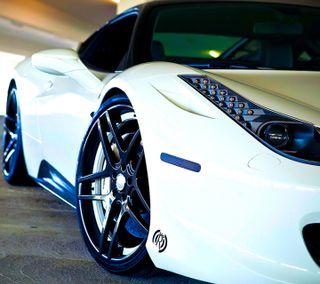Обои на телефон феррари, скорость, новый, машины, классика, белые, автомобили, авто, ferrari, fast
