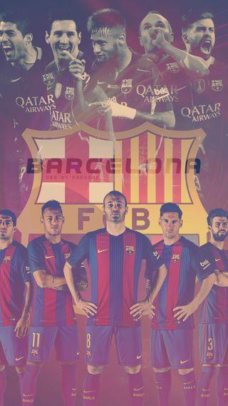 Обои на телефон команда, барселона, barcelona team