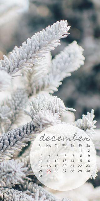 Обои на телефон календарь, рождество, декабрь, белые, december white cal