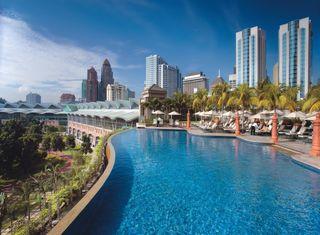 Обои на телефон приятные, плавание, место, классные, здания, вид, pool, awesome place
