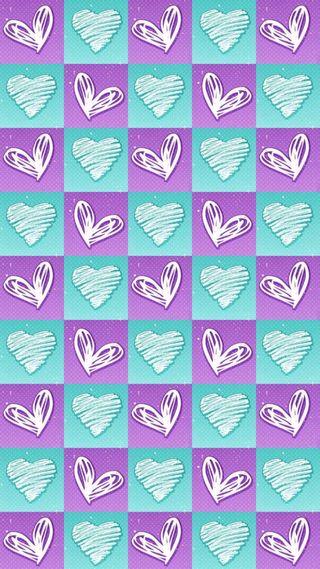 Обои на телефон квадраты, сердце, любовь, love