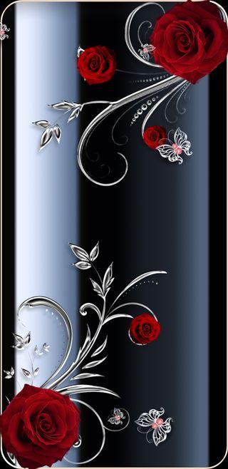 Обои на телефон девчачие, симпатичные, розы, прекрасные, любовь, красые, бабочки, ruby, love, butterfliesnroses