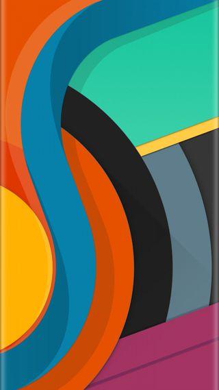 Обои на телефон стиль, красочные, грани, абстрактные, s7, edge style