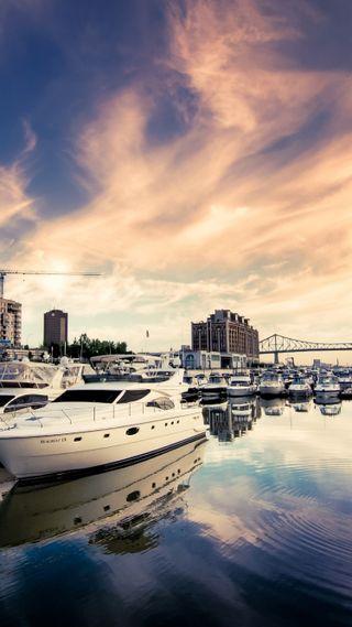Обои на телефон лодка, harbor full of boats, harbor, full of boats