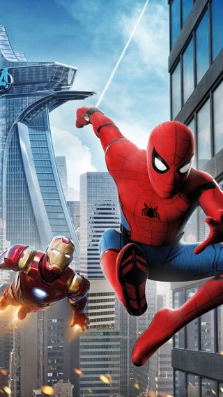 Обои на телефон том, паучок, паук, марвел, возвращение домой, tom holland, spider-man swinging, spider man, marvel