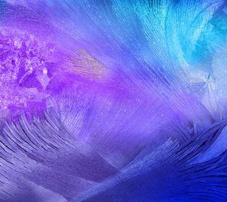 Обои на телефон цветные, фон, фиолетовые, перья, галактика, note, gn4, galaxy note 4, galaxy