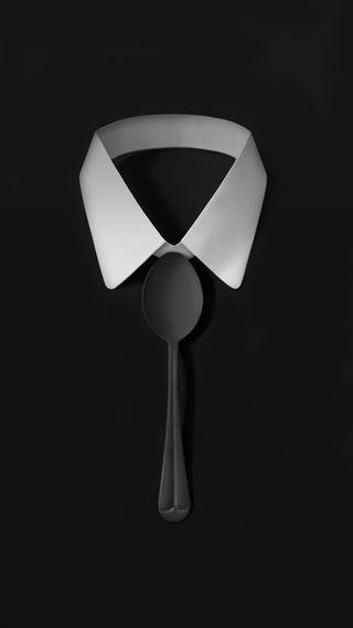 Обои на телефон элегантные, черные, темные, галстук, абстрактные, spoon, shirt, elegance