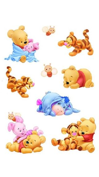 Обои на телефон пух, медведь, животные, друзья, pooh bear, pooh and friends