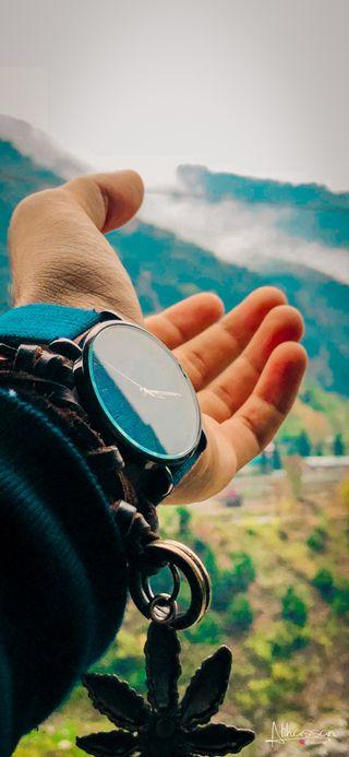 Обои на телефон часы, цветные, счастливые, зима, дни, день, happy
