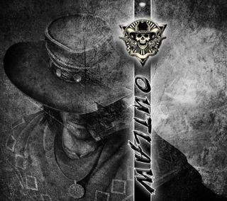 Обои на телефон череп, техас, плохой, оружие, мотивация, ковбой, outlaw, bad