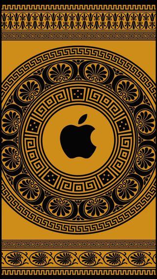 Обои на телефон apple, логотипы, шаблон, эпл, греция, древний, греческий