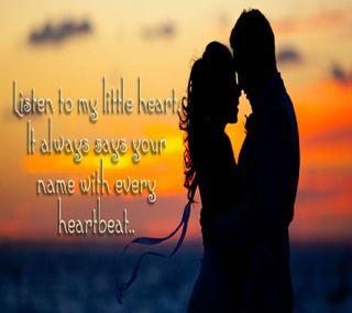 Обои на телефон обнимать, ты, стук сердца, романтика, пара, милые, любовь, love