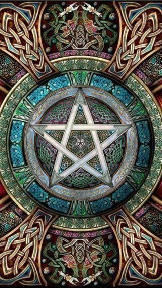 Обои на телефон языческий, символ, викинг, ведьма, witchcraft, wiccan, pentacle